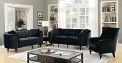 LINNEA - 2PC Clamshell Sofa Set